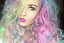 Postaw na kolor! / Oryginalne kolory włosów