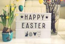 Ostern / Kreative Oster-Deko und Bastelideen für die ganze Familie!  (Easter ideas) #Ostern, #Kinder, #Bastelideen, #easter, #kids, #crafts