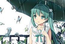 Hatstune miku <3 /  Anime <3