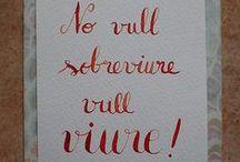 Cal·ligrafia i lettering