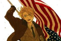 America The Hero ( Alfred .F. Jones ) / AMERICA USA *^*✌