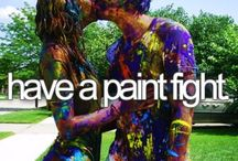 Bucket list / What I want to do or have done:)