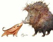 Animal Design: Pigs   Boars