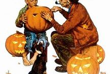 "October Country / October means breezy autumn days and chilly, wind-whipped nights. Pumpkins, apples and cinnamon. Reds, oranges and browns. Ghosts, ghouls, vampires, graveyards and of course, Halloween! ≈ ""I'm so glad I live in a world where there are Octobers."" ~ L.M. Montgomery"