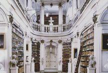 Bibliotheken + Buchhandlungen
