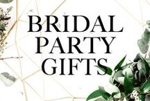 Bridal Party Gifts / Unique Bridal Party Gifts Ideas and Inspiration