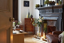 The Cozy Living Room / Living rooms that are transformed into a winter oasis.