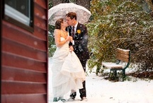 A Wedding Wonderland / A collection of winter weddings to inspire a bride to have her own winter wonderland wedding.