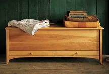 Refined Blanket Chests / From Pompanoosuc Mills, American Hardwood Furniture. Hand crafted in Vermont. / by Pompanoosuc Mills