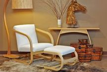 Cosy Seating / From Pompanoosuc Mills, American Hardwood Furniture. Hand crafted in Vermont. / by Pompanoosuc Mills