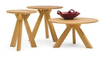 Exquisit End Tables / From Pompanoosuc Mills, American Hardwood Furniture. Hand crafted in Vermont. / by Pompanoosuc Mills