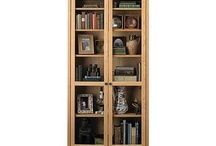 Sturdy Bookcases / From Pompanoosuc Mills, American Hardwood Furniture. Hand crafted in Vermont. / by Pompanoosuc Mills