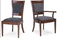 Elegant Dinning Chairs / From Pompanoosuc Mills, American Hardwood Furniture. Hand crafted in Vermont. / by Pompanoosuc Mills