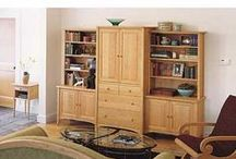 TV & Audio Storage / From Pompanoosuc Mills, American Hardwood Furniture. Hand crafted in Vermont. / by Pompanoosuc Mills