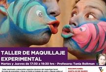Clases Maquillaje / Clases Taller Experimental Abril 2013 Centro Cultural Balmaceda Arte Joven  Profe: Maquilladora Tania Roitman