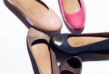 FITFLOP DUÉ™ BALLERINAS / Built on a cushioned, height-enhancing midsole, our ultra-versatile DUÉ looks like a ballerina and feels like a sneaker. Scoop cut with a rounded toe cap, it's flirty, feminine, can go formal or fun, and feels amazing underfoot. In leather, metallic, patent, 'snake' and nubuck with 'pony' hair. Ladies, it's the shoe you've been looking for. / by FitFlop™