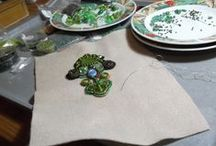 mes oeuvres / ma production très limitée de bijoux