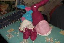 mes tricots, mes premiers essais de couture