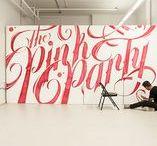 Art / Lettering / Great lettering works