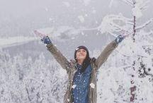 let it snow * / Winter wonderland.