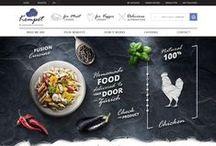 Design / Food Blog