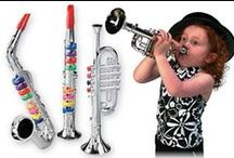 Musical Toys and Incentive Gifts / Perfect little trinkets to give your students or kids for the holidays or any occasion!
