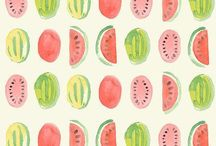 Patterns and Prints / Pattern and print pins