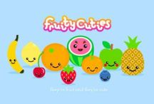 Fruity Cuties / Fruity cuties pins