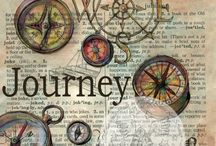 Textiles Unit 3 - Journeys / Pins to help me with my unit 3 project on journeys