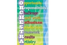Orchestra / All things the orchestra director or string teacher needs for their classroom, students, or teaching studio.