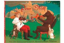 """Peter and the Wolf / All things relating to the classic children's story of """"Peter and the Wolf"""" and the music of Prokofiev."""