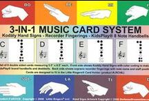 Flashcards / All about Flashcards in the Music Room!