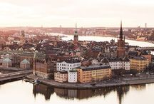 Stockholm / Pins of places to check out in Stockholm
