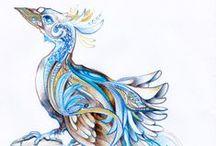 Drawings by MinkuLUL / Drawings by Luiza Malinowska #minkulul more on DA accout: http://minkulul.deviantart.com/gallery/
