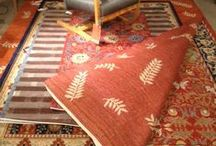 Rugs from InnerAsia / Traditional hand knotted wool rugs from Nepal and Tibet and new Hybrid wool rugs woven on mechanized looms