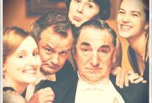 Huush...Downton's on