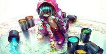 Awesome anime arts ✏✏✏