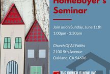 Homebuyer's Seminars! / Learn about how to own a home so much quicker than you could ever dream of! With so little money down, our programs are the best you will find, guaranteed!