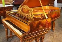Steinway grand pianos / Steinway Pianos. This handcrafted instrument is the preferred choice of the world's greatest pianists.