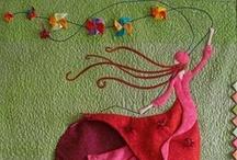 Art Quilts & Painted Fabrics / by Keepsake Fabrics