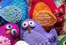 Felt Felting Felted Creations / by Keepsake Fabrics
