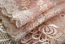 Ruffles, Lace & Linens ~ Love / by Keepsake Fabrics