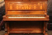 Steinway upright pianos / Steinway upright pianos. This handcrafted instrument is the preferred choice of the world's greatest pianists.