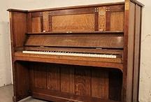 Bechstein upright pianos