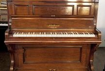 Bluthner Upright Pianos / Bluthner upright pianos at Besbrode Pianos