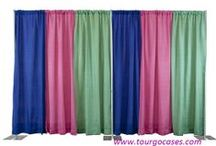 Pipe and drape / Pipe and drape:  Used for Room Dividers- Trade Show Booths - Photo Booths- Photography Backdrops-Weddng Deco- And MORE!