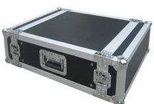 Rack Case / Rack case means 19 inches (482.6 mm) standard width fligth case, front/back Cover, include effect rack case, amp rack case, shock mount rack case, slant mixer case