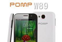 POMP W89 Smartphone / (POMP W89) Smartphone Android 4.2 Quad-Core 4.6 pouces HD écran double carte 3G http://androidsky.fr/goods.php?id=145