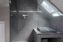 Salle de bains- sous comble