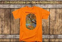 Shirts and Tops / Various T-Shirt styles for men, women, kids, customized with one of over 2000 images from my Gallery are available at johnbaileyphotoart.com